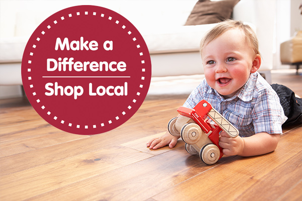 Make a difference shop local! Come visit Floors To Go in Grant Pass, Oregon.