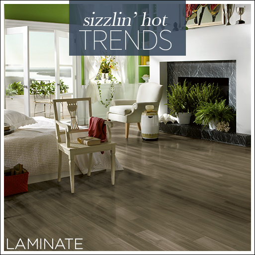 Sizzlin hot trends - Laminate flooring